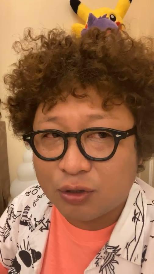 納豆入圍金馬獎最佳男配角,在臉書直播暴哭。 圖/擷自納豆臉書
