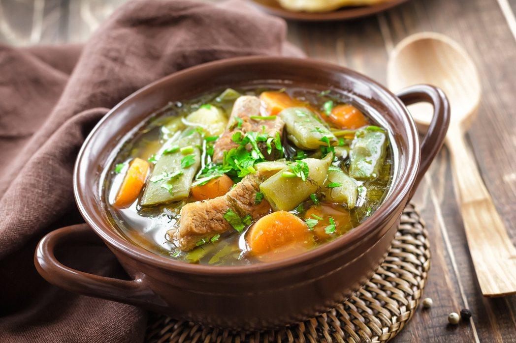 木瓜排骨湯。圖/ingimage