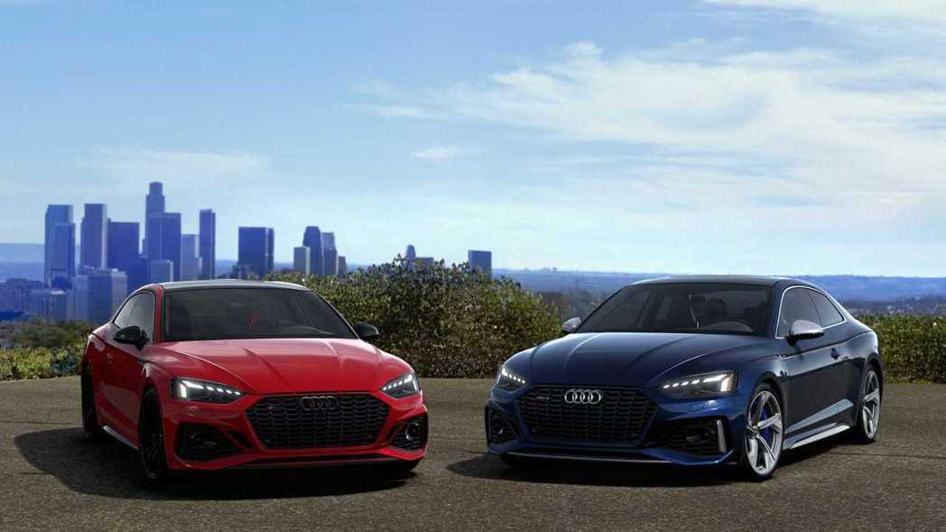 美規新年式Audi RS5 Coupe/Sportback。 摘自Audi