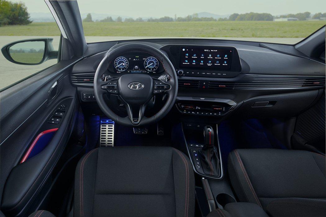全新Hyundai i20 N Line內裝。 摘自Hyundai