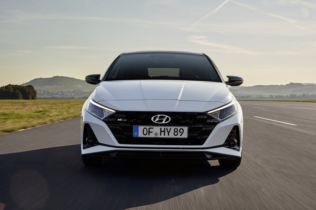 全新Hyundai i20 N Line。 摘自Hyundai