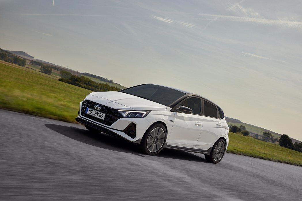 全新Hyundai i20 N Line正式登場。 摘自Hyundai