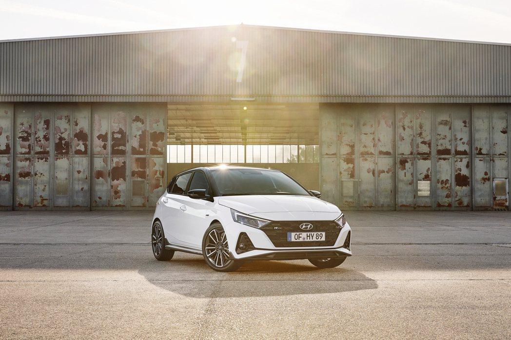 全新Hyundai i20 N Line將於明年春季在歐洲正式發售。 摘自Hyu...
