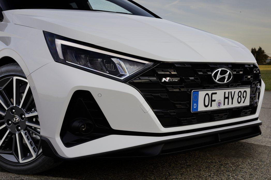 Hyundai i20正式加入品牌N Line運動化車型行列。 摘自Hyunda...