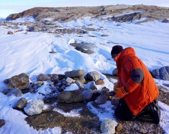 南極觀測隊於9月發現到了研判為超過半世紀之前所殘存的食物。圖/朝日新聞中文網提供