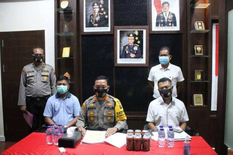印尼警方交代事件,性侵女兒的犯人在牢內被圍毆致死。(網上圖片)