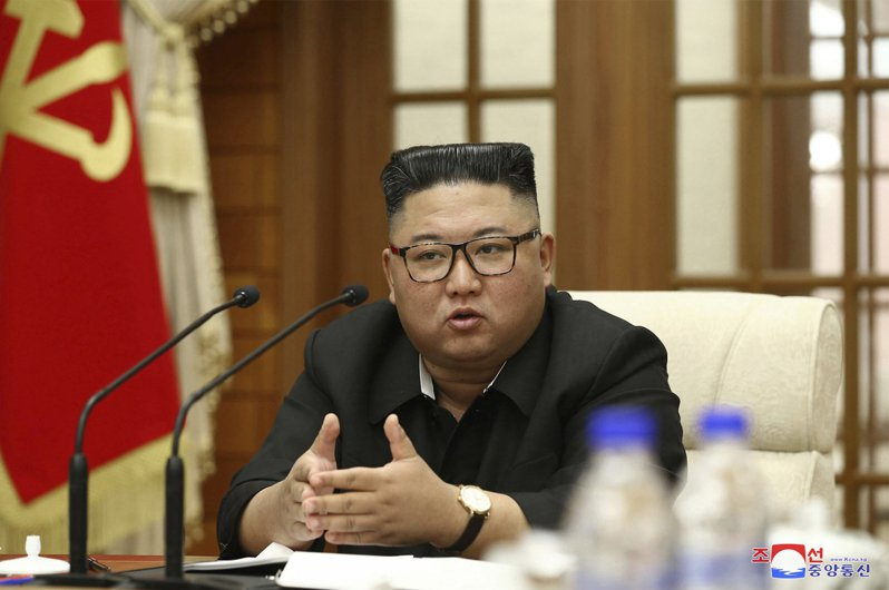 北韓領導人金正恩。圖/美聯社資料照