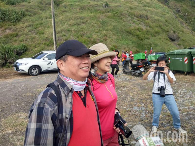 來自台北的陳姓山友說,第一次走阿塱壹古道,又是從台東出發,太棒了。記者尤聰光/攝影