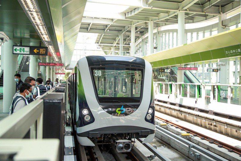 台中捷運綠線自11月16日起將試營運1個月,並於12月19日正式通車。圖/台中市政府提供