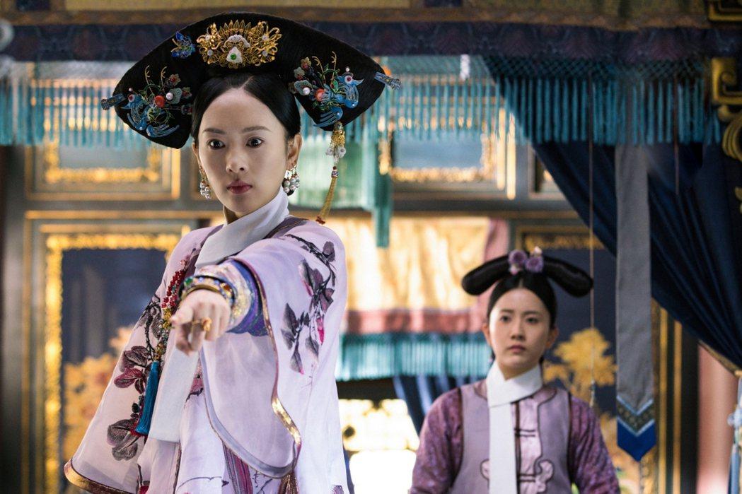 童瑤飾演「慧貴妃」。圖/中視提供