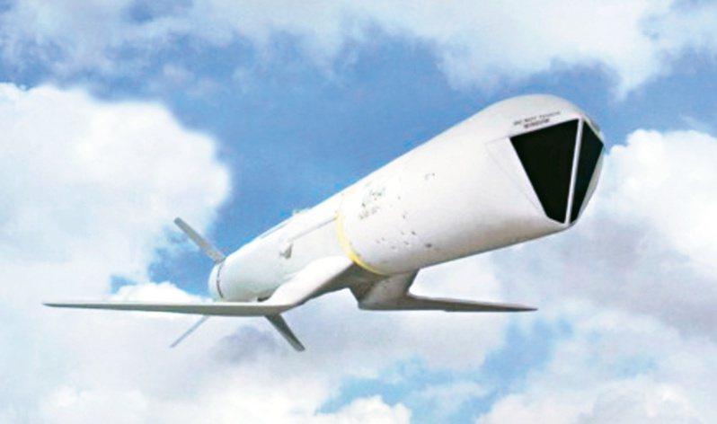 紐約時報報導,川普政府即將宣佈對台灣7項軍售,將可能包括AGM-84H/K(SLAM-ER)增程型距外陸攻飛彈。五角大廈正努力打造「堡壘台灣」,以建構反制北京日益增加、具侵略性的區域軍事行動。 圖/摘自波音官網