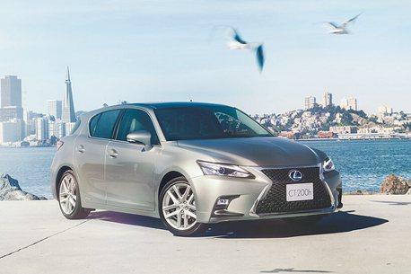 邁入第11年!日規新年式Lexus CT200h添新色再戰市場