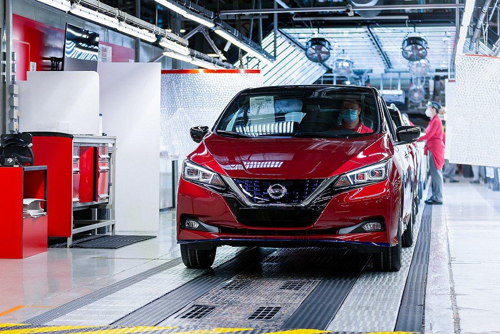Nissan日前透露第50萬輛Leaf電動車下線,但其實Tesla Model ...