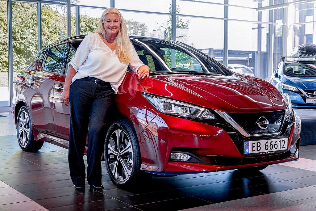 第50萬輛Nissan Leaf原廠並沒有打算留起來收藏,更已經交付給挪威的新車...