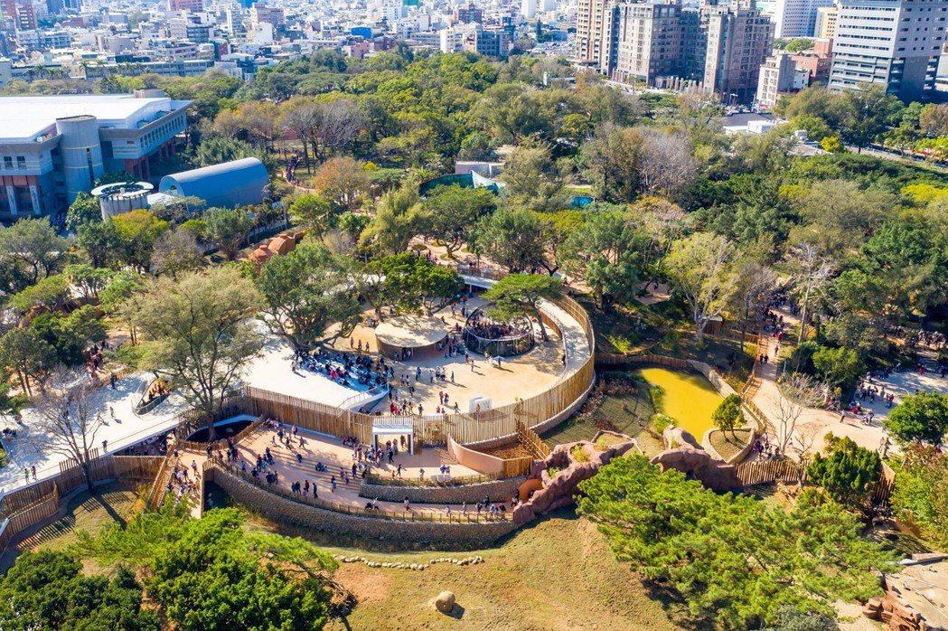 新竹公園共有4展館、2特展,從科技、設計、教育思考未來。圖/2020台灣設計展提...