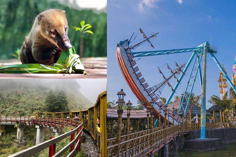 圖/壽山動物園臉書專頁、林務局官網、六福村官網