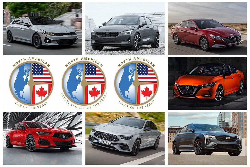 2021 NACTOY北美年度風雲車半決選名單出爐。 圖/各車廠提供