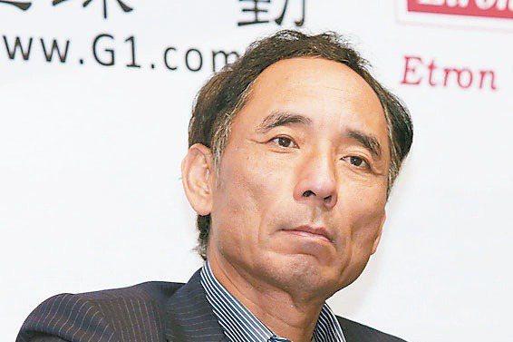 「台灣DRAM教父」高啟全。報系資料照。
