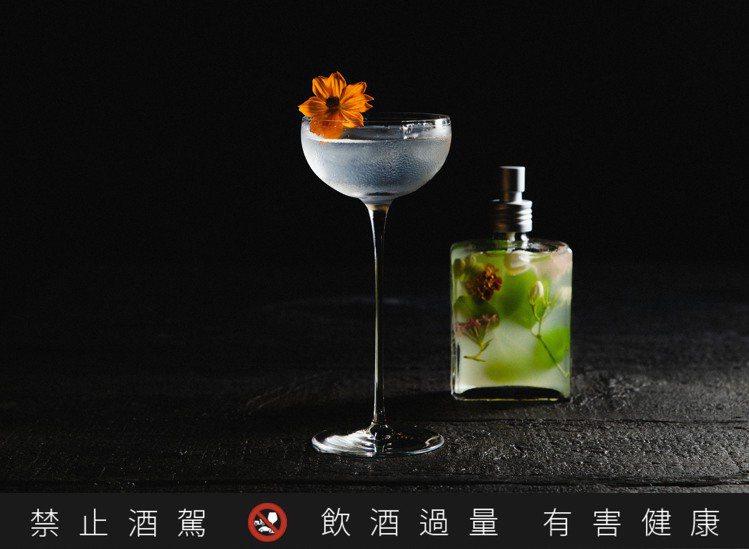 Bar PUN創作的「Miss PUN」調酒,顧名思義,由風味、視覺,專為女性打...