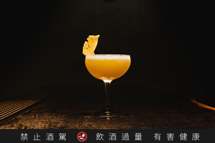 「台灣利特」脫胎自經典調酒「瑪格麗特」,是「Digout」為「信義幹線」活動推出...