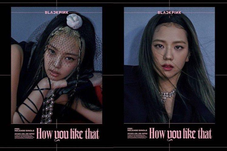 BLACKPINK引領時尚潮流。圖/摘自IG