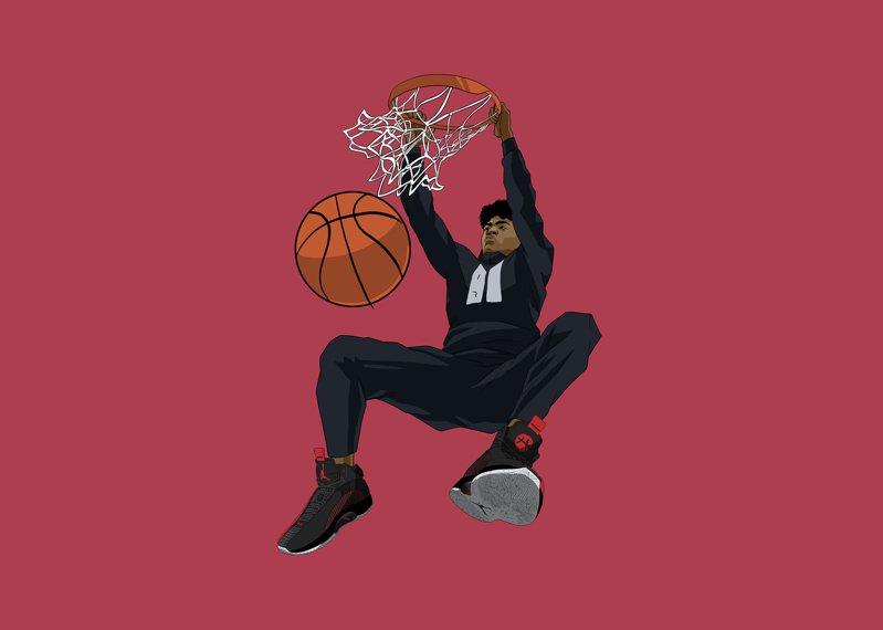NBA球星八村壘表示「Air Jordan XXXV絕對是一款極具創新性的力作。我喜歡這款鞋對腳踝的包覆性,並且十分舒服」。圖/NIKE提供