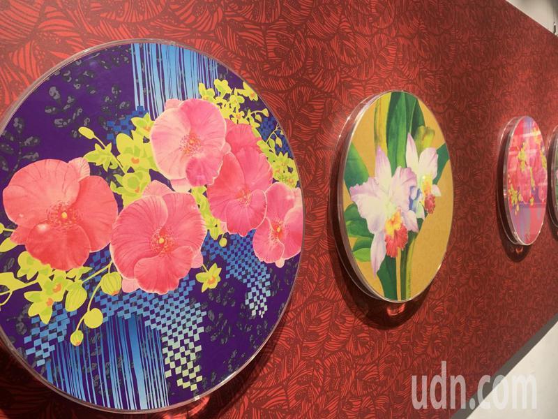 特展將展出白嘉莉40多年來的創作,從水彩到版畫、瓷器,都能在展場看到。記者巫鴻瑋/攝影