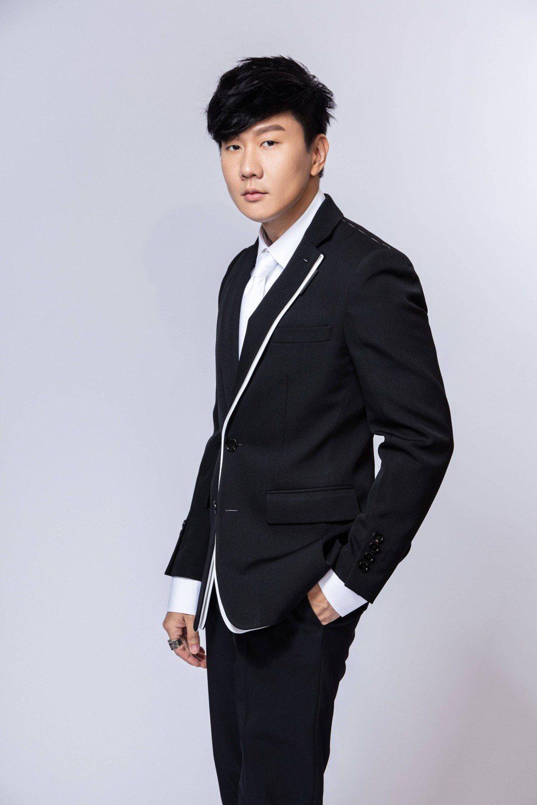 林俊傑為金曲獎助陣。圖/台視提供