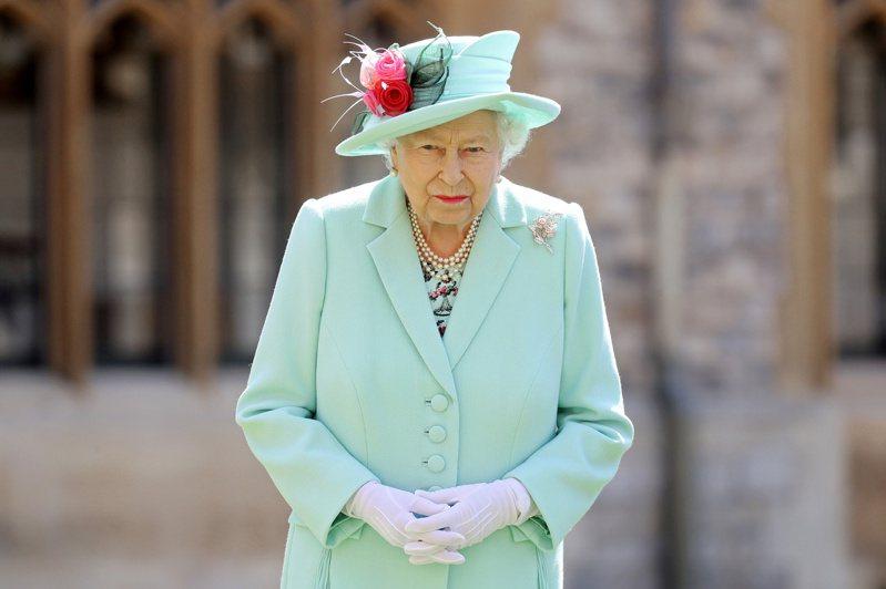 英國女王伊麗莎白二世。路透社
