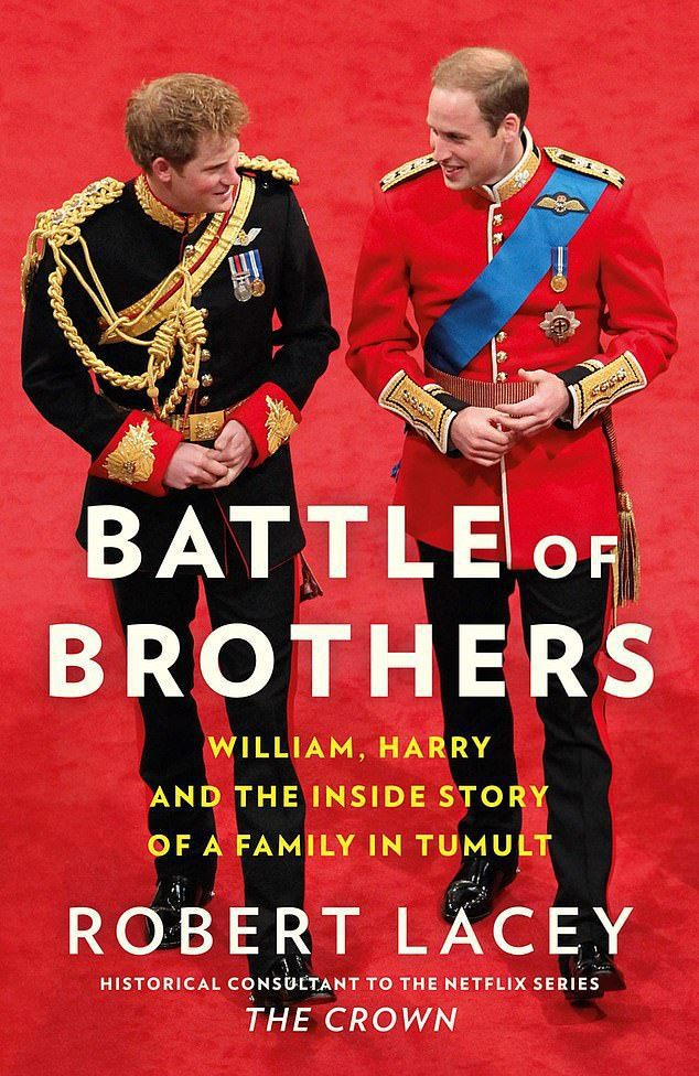 「兄弟之戰」即將上市,哈利(左)與威廉間的手足衝突成為全書重點。圖/摘自Amaz