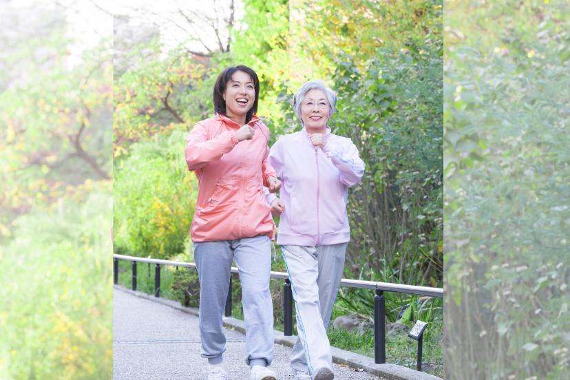年長者肌肉退化速度劇增,建議平時多做阻力運動預防。 圖/123RF