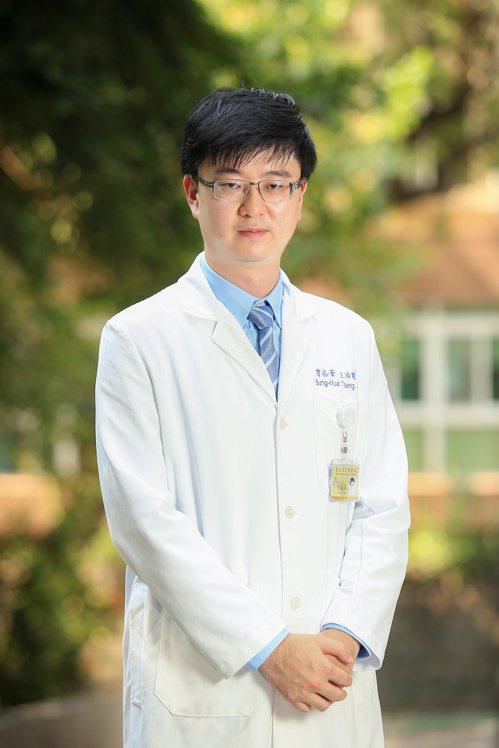 北榮高齡醫學中心醫師曾崧華建議長輩「營養運動不能少」。 記者林伯東/攝影
