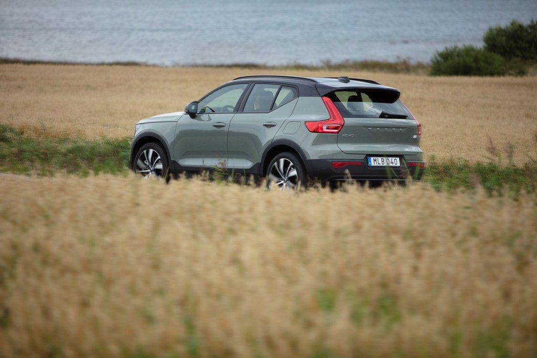 Volvo XC40 Recharge擁有最大馬力408hp/67.3kgm。 ...