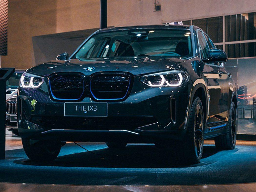 全新BMW iX3純電休旅。 摘自BMW