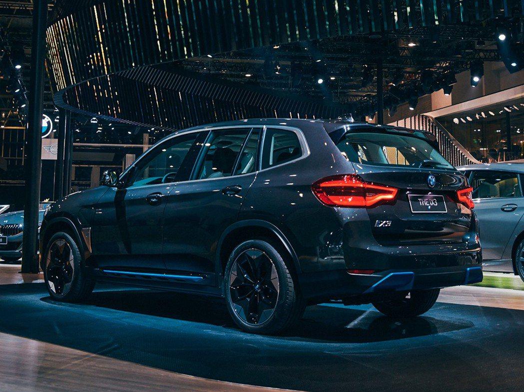全新BMW iX3擁有460公里的續航能力。 摘自BMW