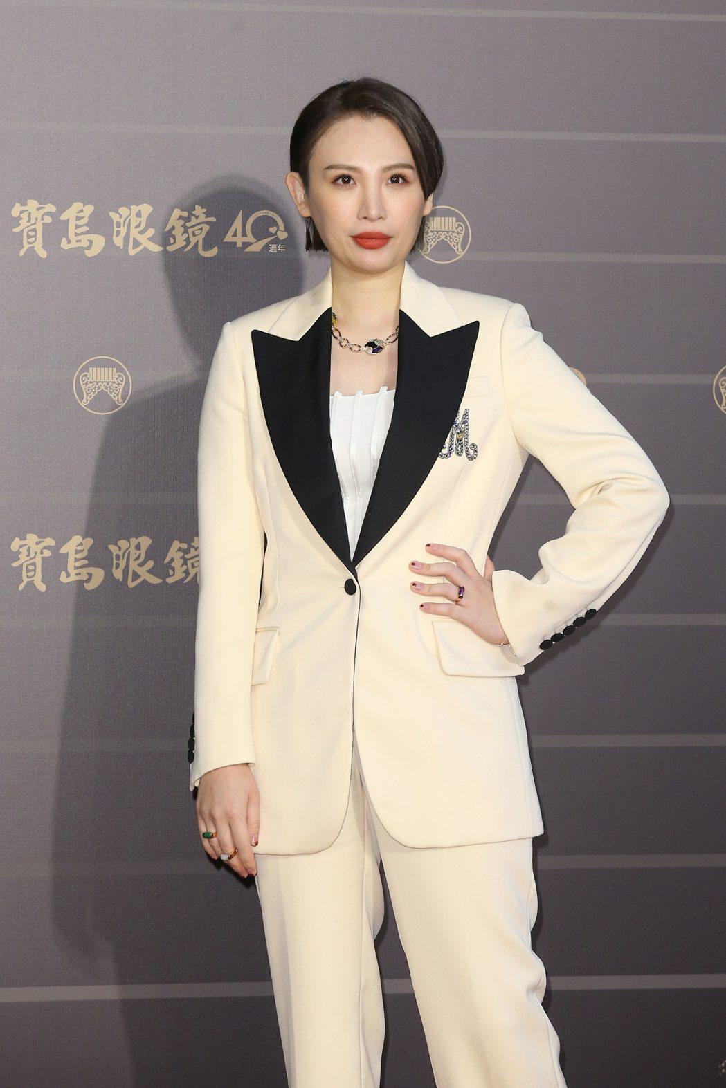 第31屆金曲獎在台北流行音樂中心舉行,魏如萱走星光大道。記者季相儒/攝影