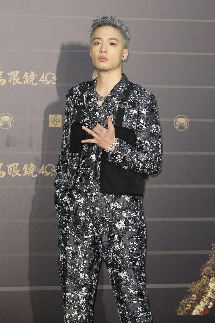 第31屆金曲獎在台北流行音樂中心舉行,J.Sheon走星光大道。記者季相儒/攝影