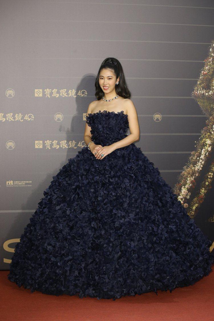 第31屆金曲獎在台北流行音樂中心舉行,王若琳走星光大道。記者季相儒/攝影