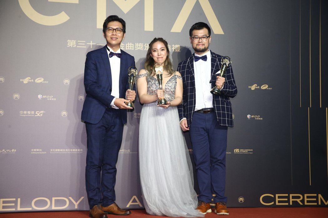 第31屆金曲獎,《Ciao Bella》獲得演奏類最佳專輯獎。記者曾原信/攝影