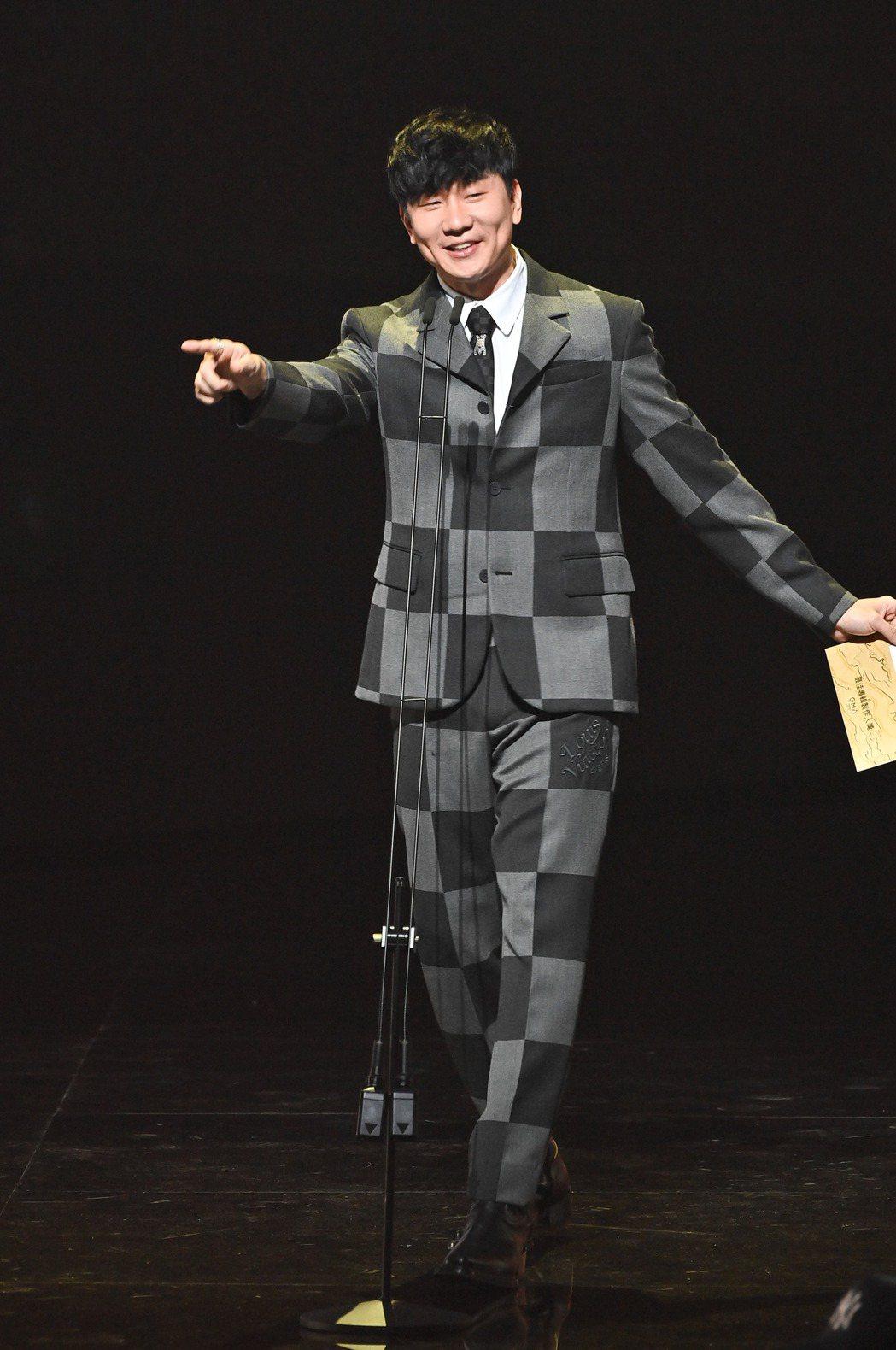 第31屆金曲獎,林俊傑進行表演。圖/台視提供