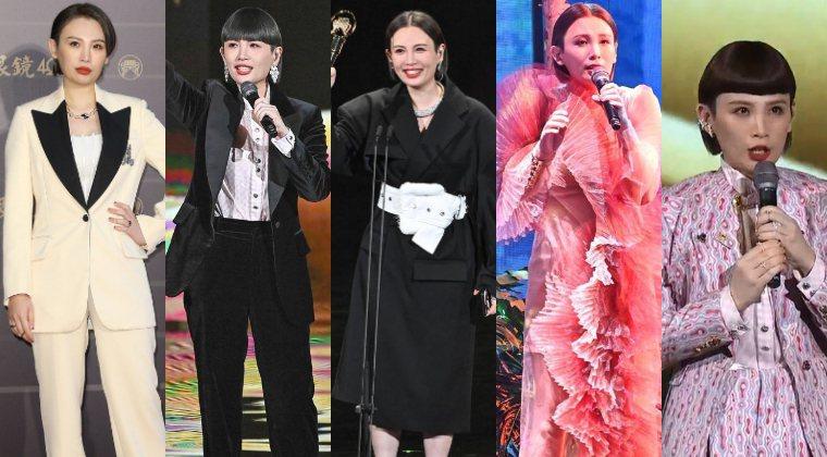 圖/魏如萱身兼主持人、表演嘉賓、入圍者。翻攝自LINE TODAY、台視提供、記