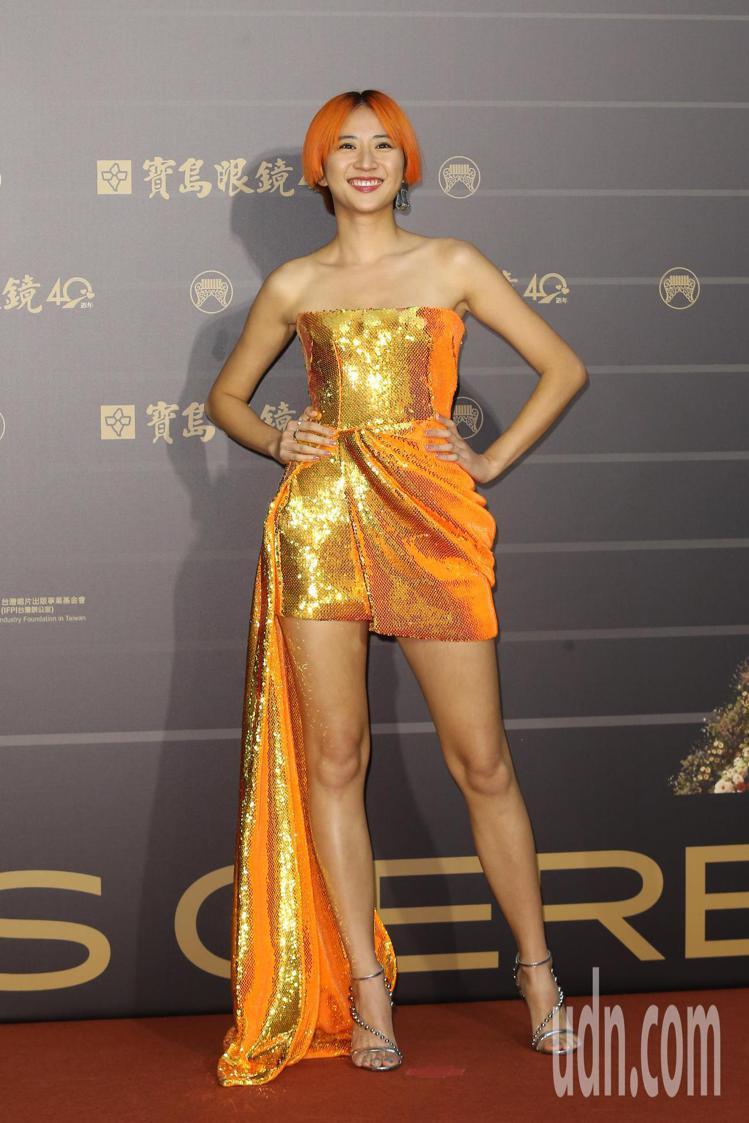 第31屆金曲獎在台北流行音樂中心舉行,9m88走星光大道。記者季相儒/攝影