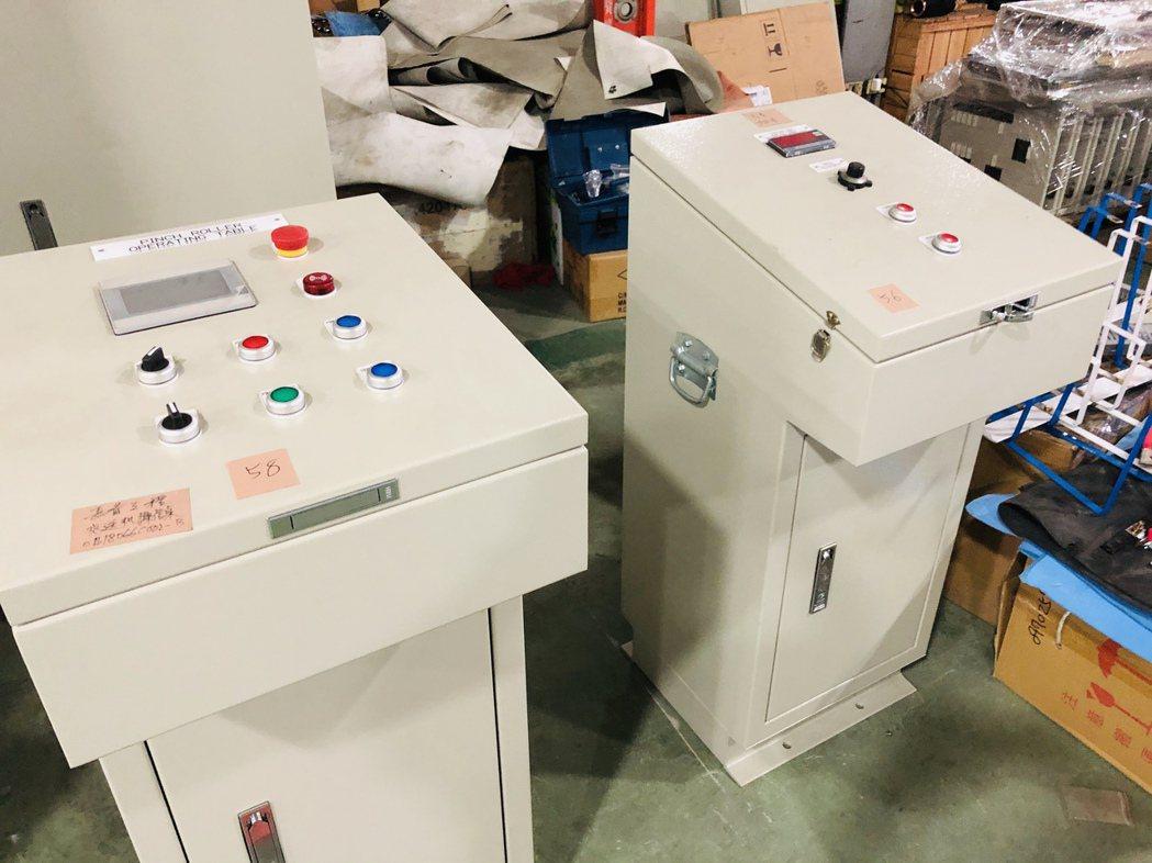 冠賢機電在台灣與越南開創商機。 記者林政鋒╱攝影