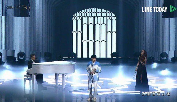 林俊傑與黃裕翔、蘇子茵跨界合作。圖/翻攝自LINE TODAY