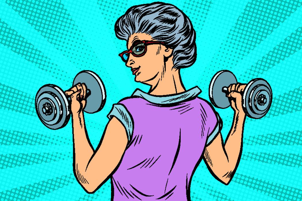 研究:分散各餐攝取蛋白質的老年人,擁有更強健的肌肉。 圖/ingimage