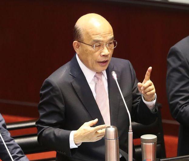 行政院長蘇貞昌。聯合報資料照片