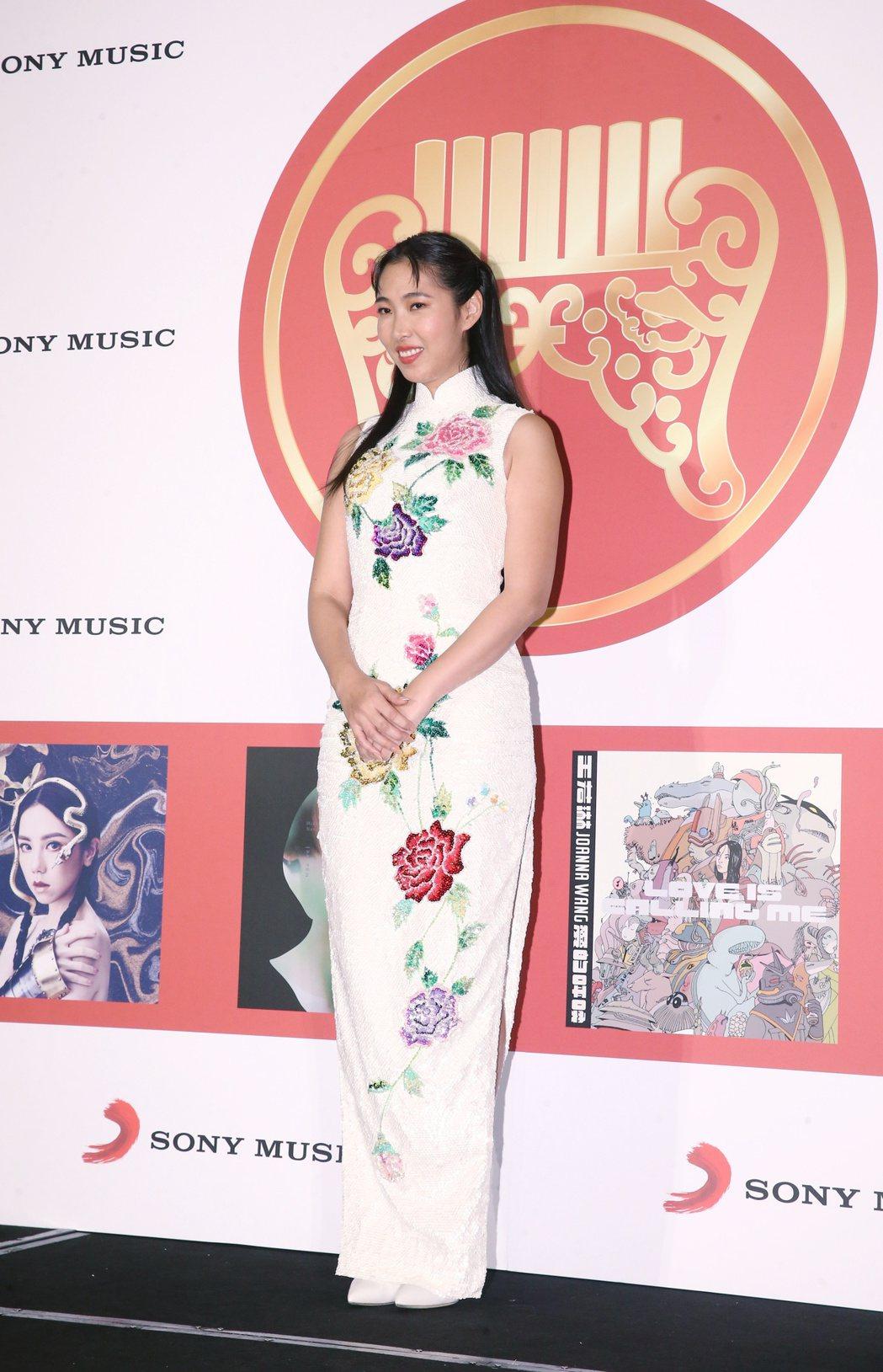 王若琳獲得金曲獎最佳國語專輯獎。記者曾原信/攝影
