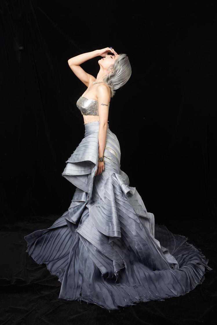 蔡依林配戴寶格麗珠寶出席第31屆金曲獎頒獎典禮。圖/寶格麗提供