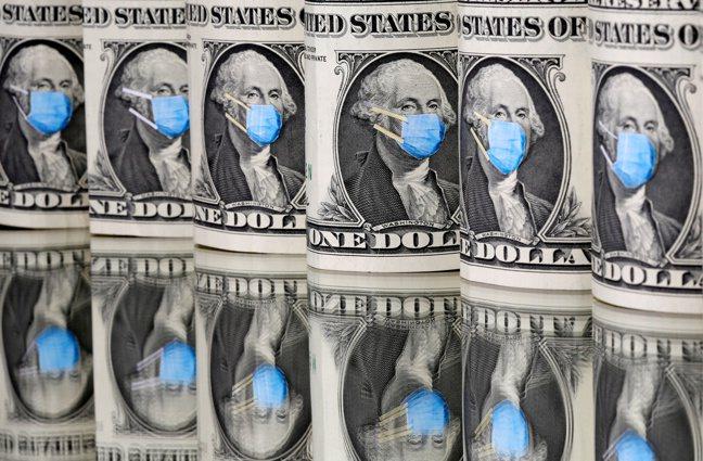 美國公共債務突破20兆美元,未來幾年償債成本卻是過去半個世紀以來最低。(路透)