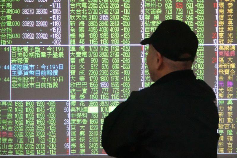 川普確診,全球股市下挫,台股因逢中秋連假休市,今天開盤恐面臨補跌壓力。 圖/聯合報系資料照片